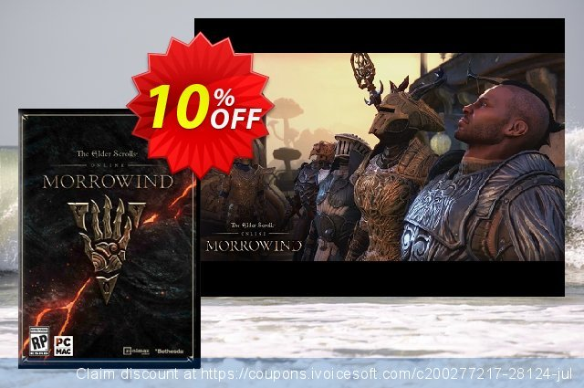 The Elder Scrolls Online - Morrowind Upgrade PC + DLC  신기한   가격을 제시하다  스크린 샷