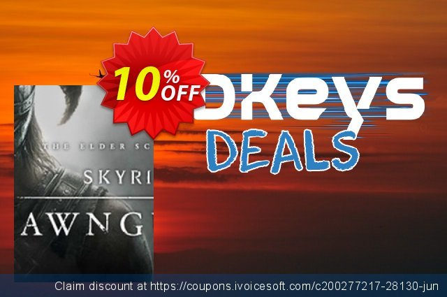 The Elder Scrolls V Skyrim Dawnguard PC discount 10% OFF, 2020 Thanksgiving Day offering sales