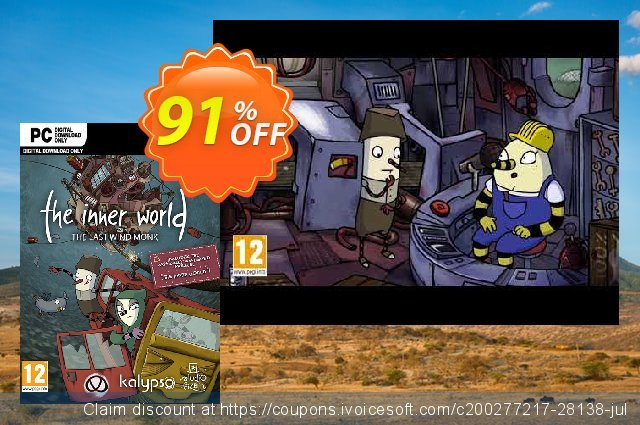 The Inner World - The Last Wind Monk PC discount 80% OFF, 2020 Thanksgiving discounts