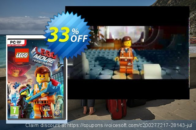 The LEGO Movie: Videogame PC discount 10% OFF, 2021 Happy New Year offering sales