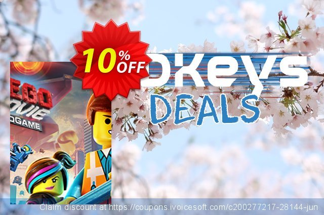 The LEGO Movie Videogame PC discount 10% OFF, 2021 January offering sales