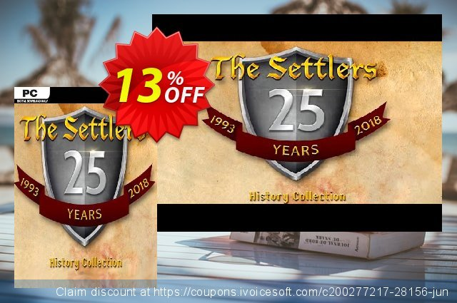 The Settlers: History Collection PC (EU) discount 13% OFF, 2021 New Year's Day offering deals