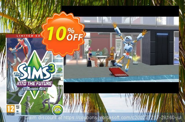 The Sims 3: Into the Future - Limited Edition PC discount 10% OFF, 2020 Thanksgiving Day deals