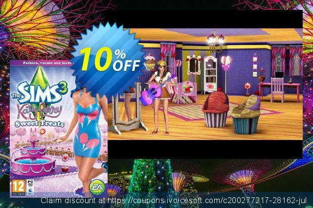 The Sims 3 Katy Perry's Sweet Treats PC discount 10% OFF, 2020 Thanksgiving discount