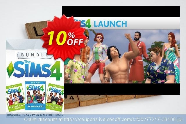 The Sims 4 - Bundle Pack 5 PC discount 10% OFF, 2020 Thanksgiving Day promo sales