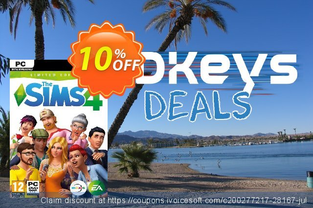 The Sims 4 - Limited Edition PC discount 10% OFF, 2020 Xmas offering sales