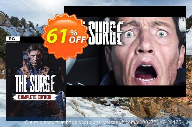 The Surge Complete Edition PC discount 61% OFF, 2021 Spring offering deals