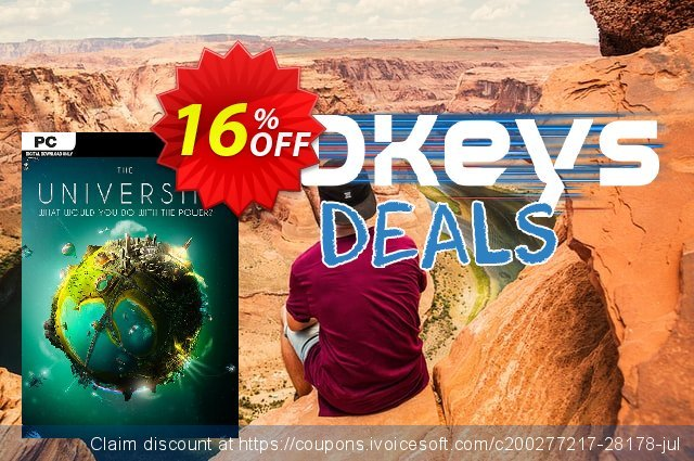 The Universim PC discount 16% OFF, 2020 New Year's Day deals