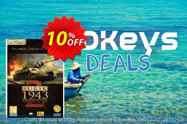 Theatre of War 2: Kursk (PC) discount 10% OFF, 2020 Halloween discount