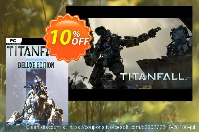 Titanfall Deluxe Edition PC discount 73% OFF, 2020 Back to School promo promo