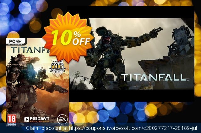 Titanfall PC discount 10% OFF, 2020 Thanksgiving offering sales
