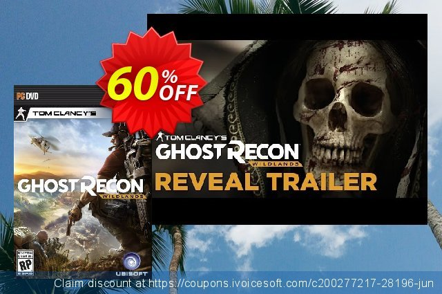 Tom Clancy's Ghost Recon Wildlands PC (Asia) 令人震惊的 销售折让 软件截图