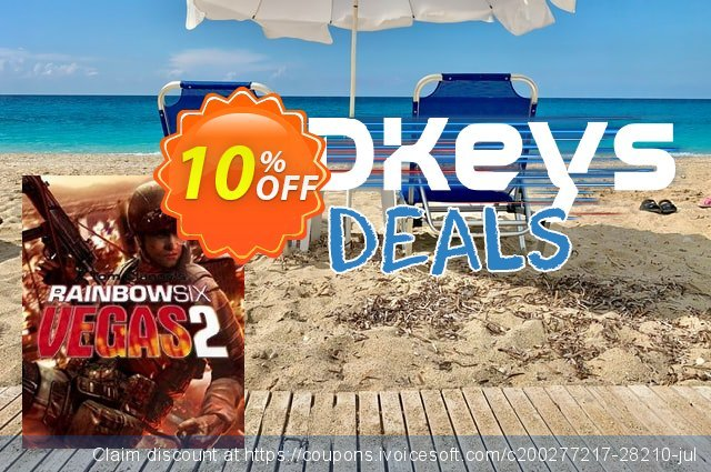 Tom Clancys Rainbow Six Vegas 2 (PC) discount 10% OFF, 2020 Thanksgiving offering sales