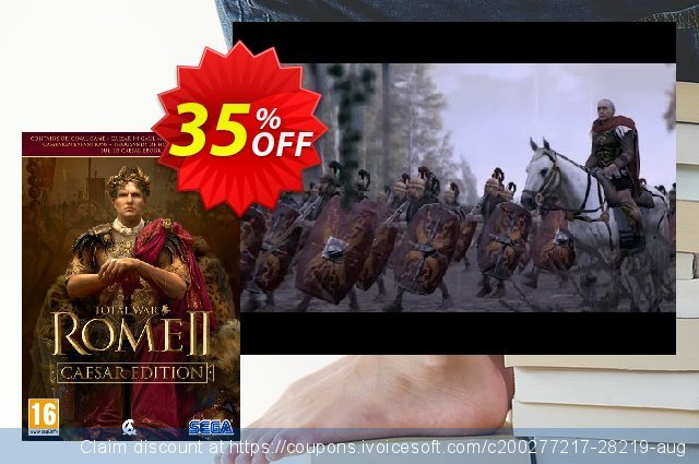 Total War Rome 2 - Caesar Edition PC discount 35% OFF, 2020 New Year's eve offering discount