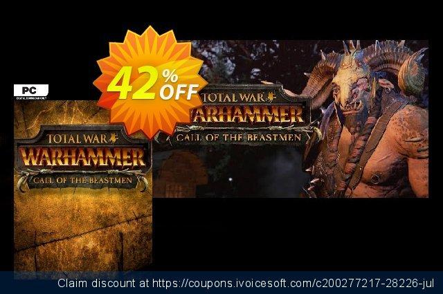 Total War WARHAMMER – Call of the Beastmen Campaign Pack DLC  신기한   촉진  스크린 샷