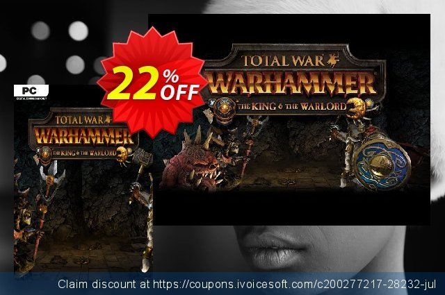 Total War WARHAMMER – The King and the Warlord DLC  서늘해요   프로모션  스크린 샷