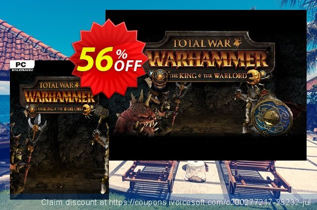Total War WARHAMMER – The King and the Warlord DLC discount 22% OFF, 2020 New Year's Day discounts