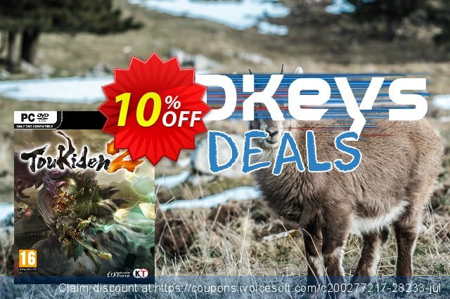 Toukiden 2 PC discount 10% OFF, 2020 Black Friday discounts