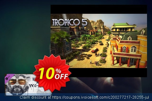 Tropico 5 Mad World PC discount 10% OFF, 2020 Thanksgiving deals