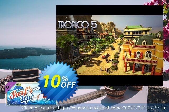 Tropico 5 Surfs Up! PC discount 10% OFF, 2020 Black Friday discount
