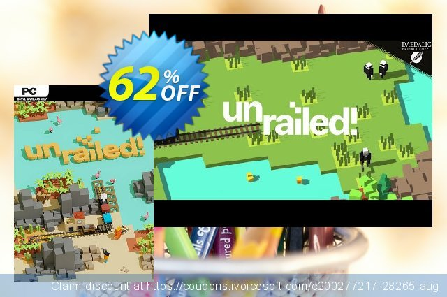 Unrailed! PC discount 31% OFF, 2020 Christmas offering sales