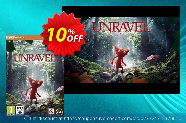 Unravel PC discount 10% OFF, 2020 Black Friday offering sales