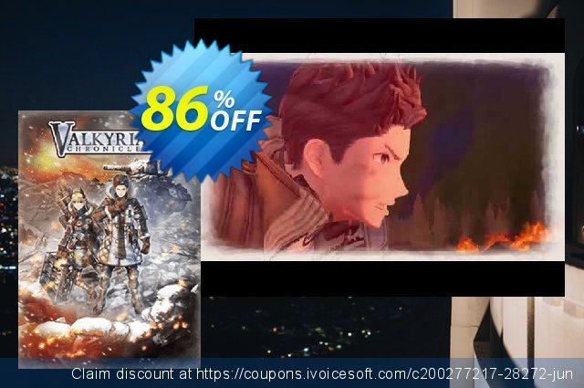 Valkyria Chronicles 4 PC discount 10% OFF, 2020 Black Friday promotions