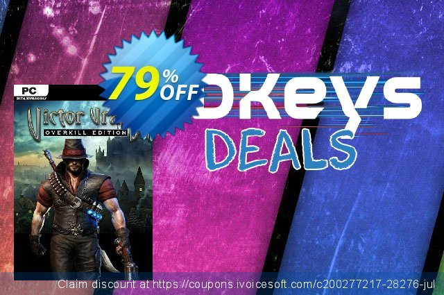 Victor Vran Overkill Edition PC discount 71% OFF, 2020 Thanksgiving discount