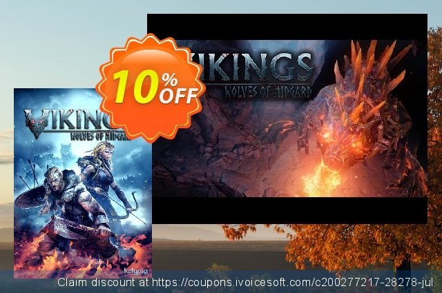 Vikings - Wolves of Midgard PC discount 10% OFF, 2020 Christmas Day offering deals