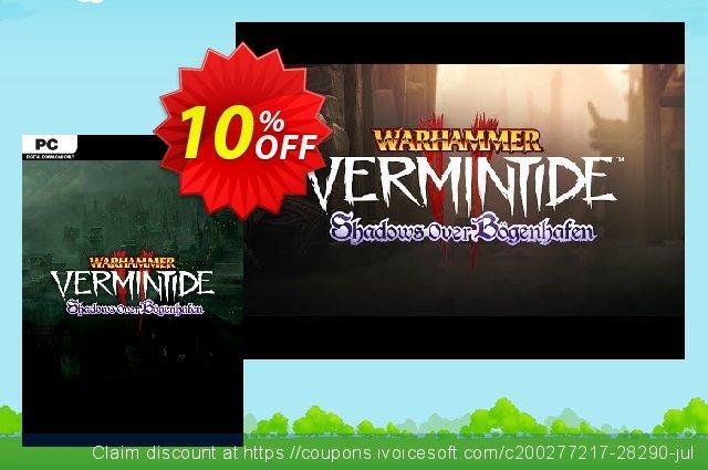 Warhammer: Vermintide 2 PC - Shadows Over Bögenhafen DLC  대단하   가격을 제시하다  스크린 샷