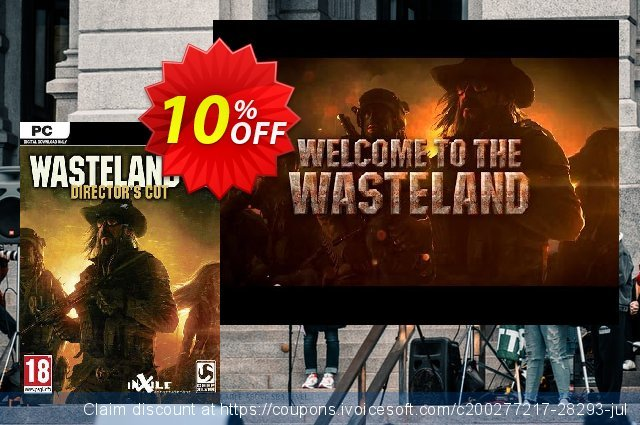 Wasteland 2 PC discount 10% OFF, 2020 Black Friday deals