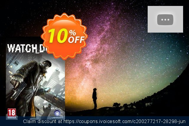 Watch Dogs Digital Deluxe Edition (PC) discount 10% OFF, 2020 Thanksgiving Day offering deals