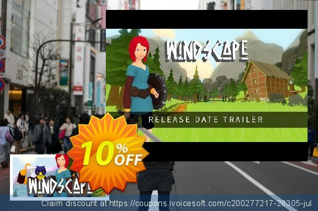 Windscape PC discount 10% OFF, 2021 January discount