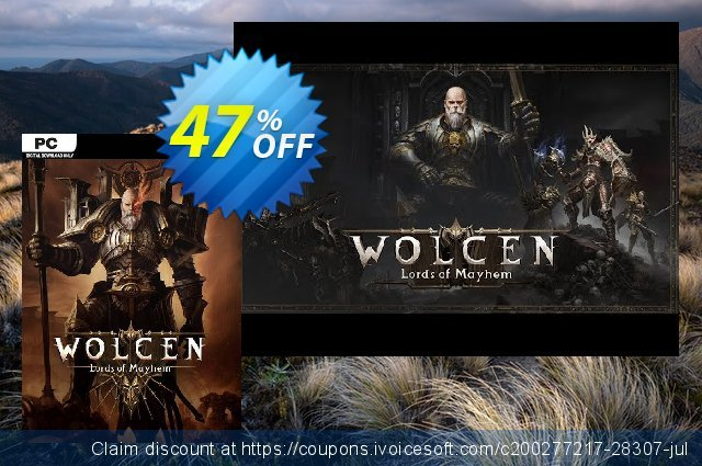 Wolcen: Lords of Mayhem PC discount 11% OFF, 2020 Thanksgiving Day offering sales