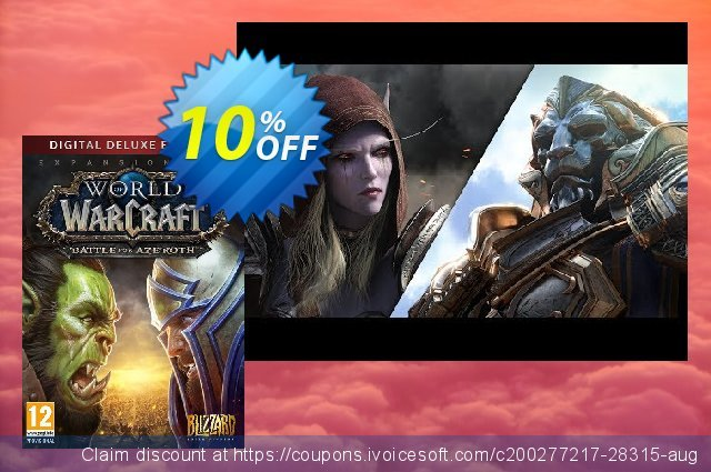 World of Warcraft Battle for Azeroth - Deluxe Edition PC (EU)  대단하   촉진  스크린 샷