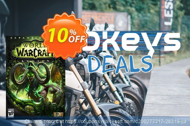 World of Warcraft (WoW) - Legion PC/Mac (US) discount 10% OFF, 2020 Christmas offering sales