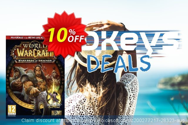 World of Warcraft (WoW): Warlords of Draenor Pack PC/Mac discount 10% OFF, 2020 Black Friday offering sales