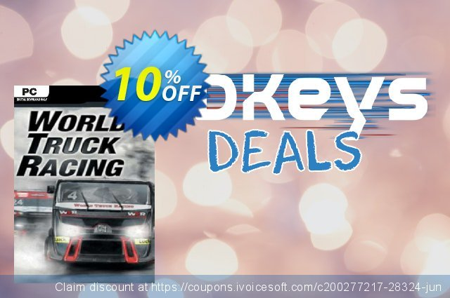 World Truck Racing PC discount 10% OFF, 2020 Thanksgiving offering sales