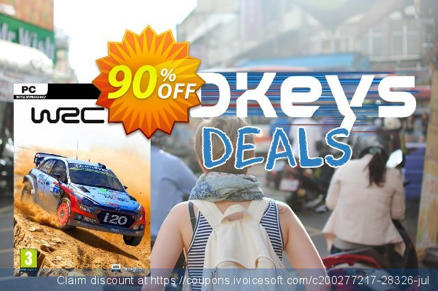 WRC 6 World Rally Championship PC discount 10% OFF, 2020 Black Friday offering sales