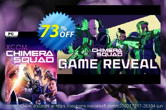XCOM: Chimera Squad PC (EU) discount 68% OFF, 2020 End year offering sales