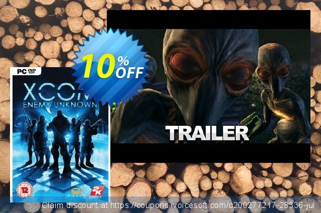 XCOM Enemy Unknown (PC) discount 10% OFF, 2021 Spring offering sales
