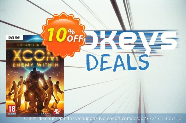 XCOM Enemy Within PC discount 10% OFF, 2020 Thanksgiving Day promo sales