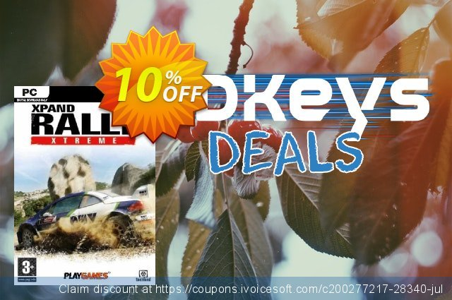 Xpand Rally Xtreme PC discount 10% OFF, 2020 Thanksgiving Day offering sales