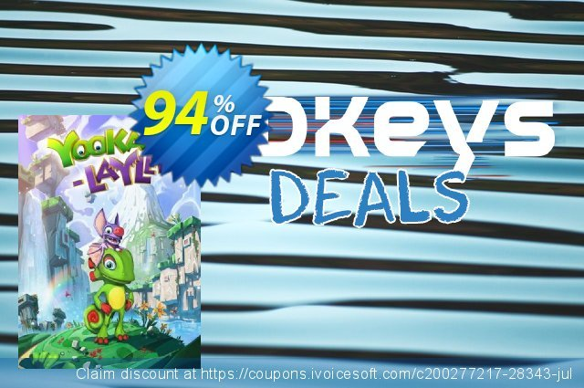 Yooka-Laylee PC discount 46% OFF, 2020 End year offering sales