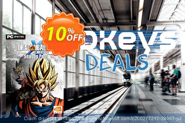Dragon Ball Xenoverse 2 - Season Pass PC discount 10% OFF, 2020 Thanksgiving offering sales