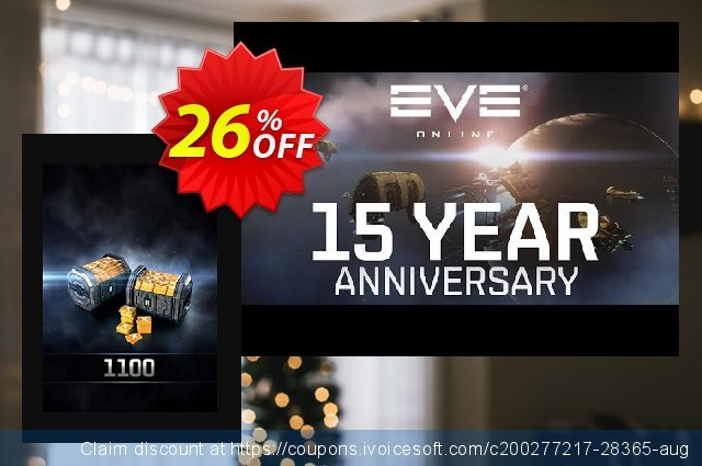 EVE Online 1100 Plex PC discount 26% OFF, 2020 Black Friday offering sales