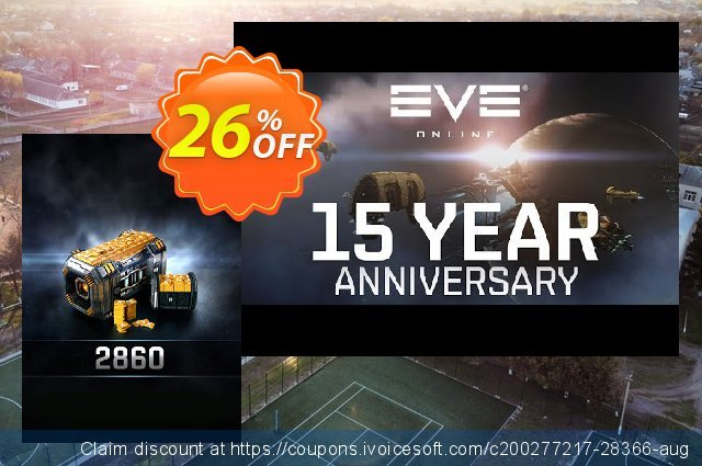 EVE Online 2860 Plex PC discount 26% OFF, 2020 Christmas & New Year promotions