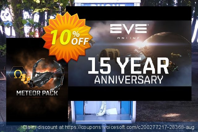 EVE Online Meteor Pack PC discount 10% OFF, 2021 January offering sales