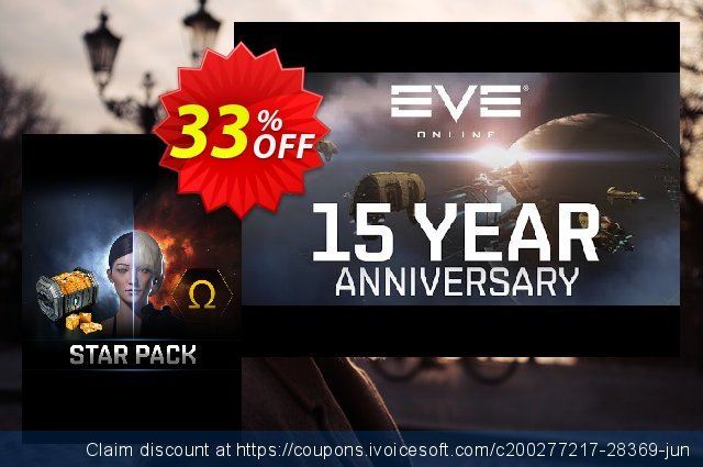 EVE Online Star Pack PC discount 33% OFF, 2021 Happy New Year offering sales