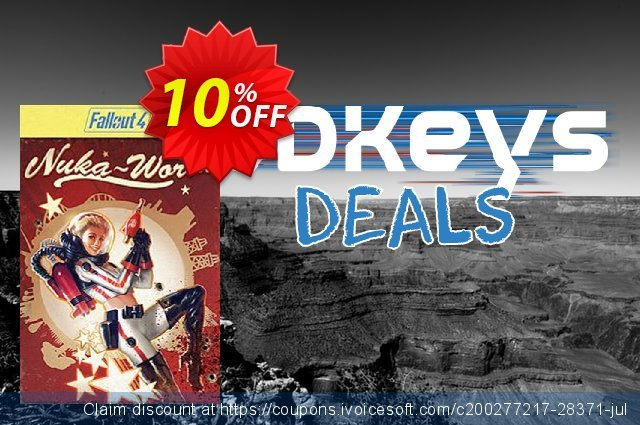 Fallout 4 Nuka-World DLC PC discount 10% OFF, 2020 Black Friday discount